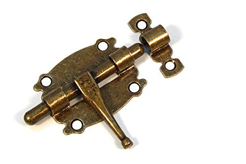 Möbelriegel Türriegel Torriegel Schubriegel Torschieber Bolzenriegel Vintage Alt 60mm
