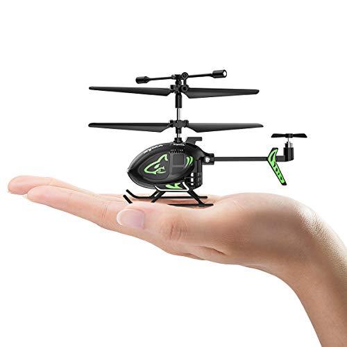 SYMA Mini helicóptero teledirigido de 2,4 GHz, avión para principiantes, regalo para niños, jóvenes y hombres