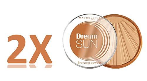 Dream Sun - Bräunungspuder - 02 GOLDEN - Sonnenblume - 2 Stück