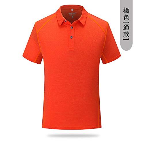 FDSHOSFH Camisetas para Hombres y Mujeres-Trabajo rápido-Entrenamiento Deportivo, Fitness, Running Camisetas de Manga Larga-Orange_XXXXL