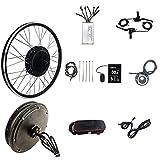 HYCy Kit de conversión de Bicicleta eléctrica 20'/ 24' / 26'/27.5' / 28'/ 29er / 700C Rueda Trasera 48V 1500W Kit de conversión de Bicicleta eléctrica Kit de Bicicleta eléctrica Moto