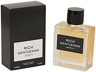 RICH GENTLEMAN BY Johan.B Eau De Toilette 90ml / 3.0 fl.oz Spray For Men