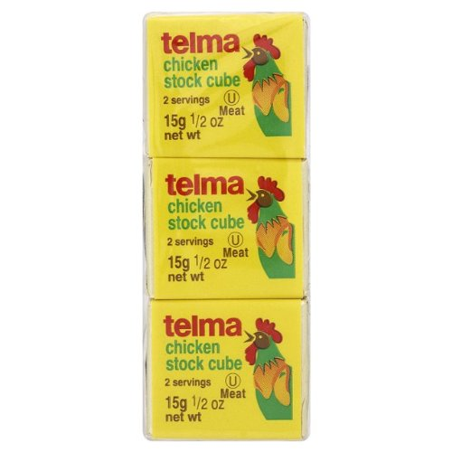 Telma Chicken Cubes, Passover,0.5000-ounces (Pack of12)
