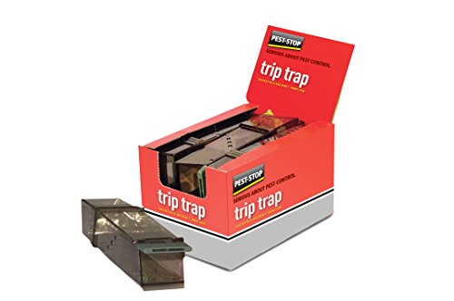 Pest-Stop Trip Trap-Trampa para (no daña al), Brown