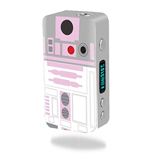 MightySkins Skin Compatible with Smok Koopor Plus 200W – Pink Cyber Bot   Protective, Durable, and Unique Vinyl Decal wrap Cover   Easy to Apply, Remove, and Change Styles   Made in The USA