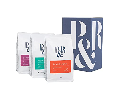 Pablo & Rusty's Trio Blend Pack. Freshly Roasted Specialty Coffee. All Three Blends in one Box