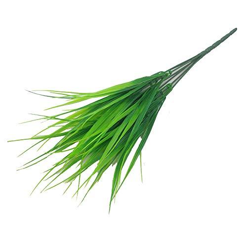 KAERMA Künstliche Wand Gras Gartendekoration künstliche Blätter for die Dekoration billig gefälschte Pflanzen Grün Dschungel-Party Indoor-Grün (Size : Light Green)