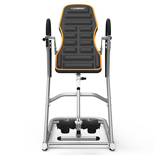 Product Image 8: HARISON Heavy Duty Inversion Table for Back Pain Relief 350 LBS Capacity with 3D Memory Foam, Back Inversion Chair with 180 Degree Full Inversion
