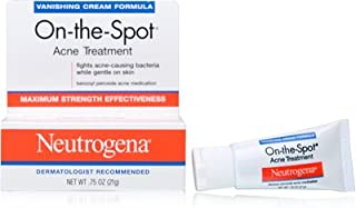 Neutrogena On-The-Spot Acne Treatment, Vanishing Formula, 0.75 Ounce