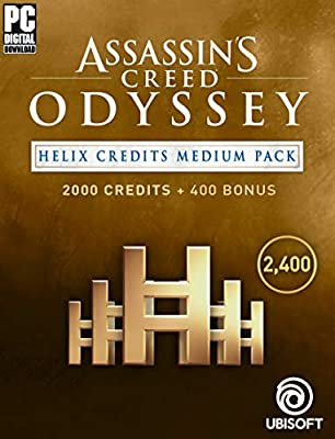 Assassin's Creed Odyssey - HELIX CREDITS MEDIUM PACK - 2400 Helix Credits | PC Download - Uplay Code