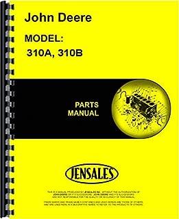 John Deere 310B Tractor Loader Backhoe Parts Manual
