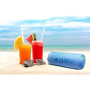 Chill Pal PVA Cooling Towel (Ocean Blue)