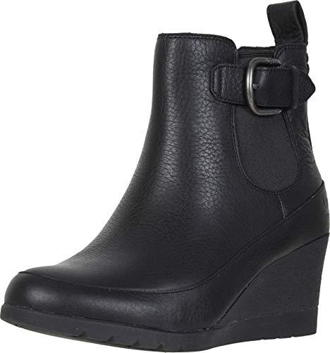 UGG Women's Arleta Ankle Boot, Black, 8 M US