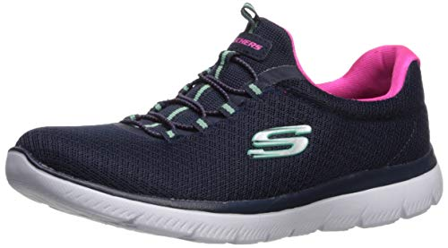 Skechers 12980-NVHP_38, Zapatillas Mujer, Navy, EU