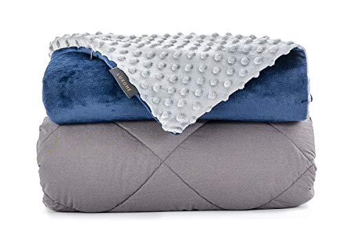 LUXOME Premium Weighted Blanket for Adults