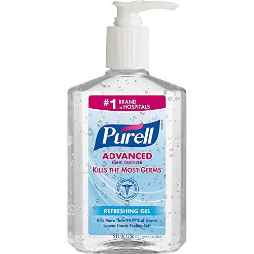 Purell Pump Bottle Hand Sanitizer 8 oz. Bottle