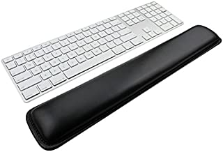 Wrist Rests,Keyboard Wrist Rest Pad,Black PU Leather Palm Support Wrist Pad Wrist Cushion for Laptops/ Notebooks/ MacBooks//PC/Computer