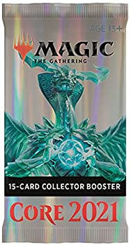 Magic  The Gathering Core Set 2021  M21  Collector Booster | 15 Cards | Min 4 Rares Per Pack