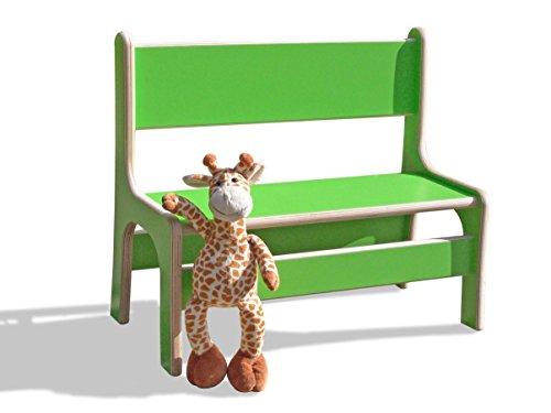 Banc pour enfant-vert-très stable et solide