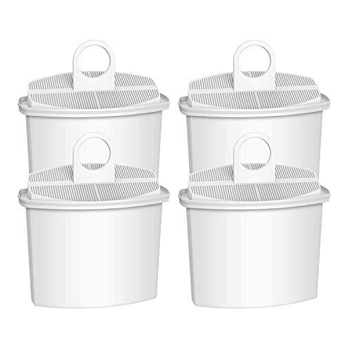 Maxblue TÜV SÜD Zertifizierte Ersatzfilterpartrone für Braun Brita PureAqua KWF2, Braun BRSC006, Braun AromaSelect, AromaPassion, Impression Kaffeemaschinen (4)