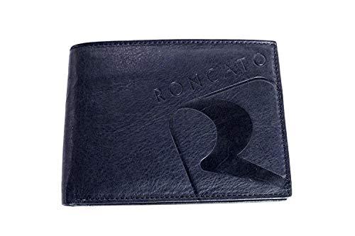Roncato Portafogli uomo wallet 10724.BLU moda italiana