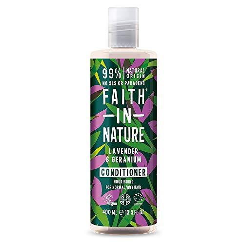 Faith in Nature Natural Lavender & Geranium Conditioner, 400 ml