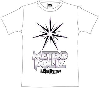 """三代目 J Soul Brothers LIVE TOUR 2016 """"METROPOLIZ"""" 公式グッズ METROPOLIZ ツアーTシャツ WHITE 白 (Mサイズ)"""