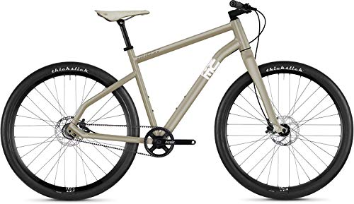 Ghost Square Times 9.9 AL U Urban Bike 2019 (M/52cm, Frosted Tan/Star White)