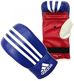 Adidas ADXBGS01-S Bag Glove Pu Response Blue/Red/Wht, Blue/red/White, S/M