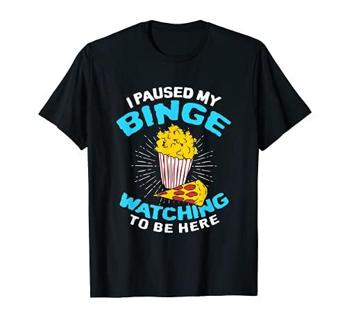 Me pausé mi atracción mirando estar aquí amante de la película Camiseta