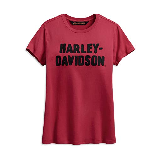 HARLEY-DAVIDSON® Women's Chain Stitched Tee - 99002-19VW