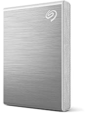 Seagate One Touch SSD 2TB Extern SSD Bärbar – Silver, upp till 1030 MB/s, med Android-app, 1 år Mylio Create, 4 månader Adobe Creative Cloud Photography plan, Rescue Services (STKG2000401)