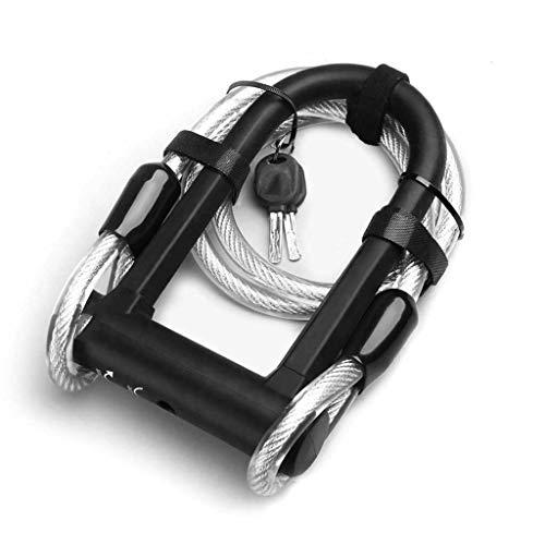 Candado de Cable Cable de Seguridad for Bicicletas T combinación de Bloqueo...