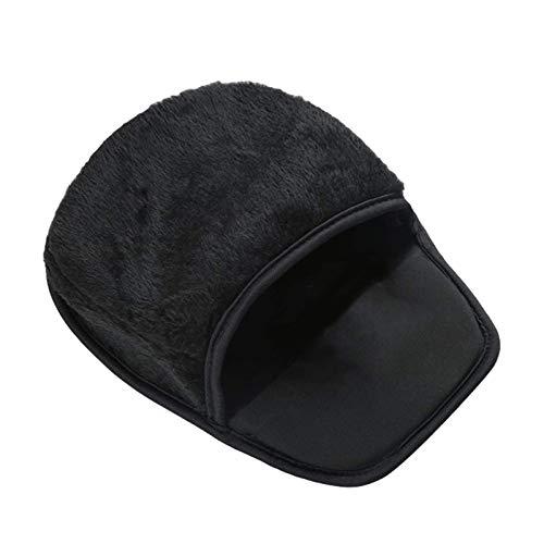 Mano USB Warmer alfombrilla de ratón cómodo climatizada alfombrilla de ratón mantener las manos calientes en invierno con la calefacción del cojín, ordenador portátil climatizada alfombrilla de ratón