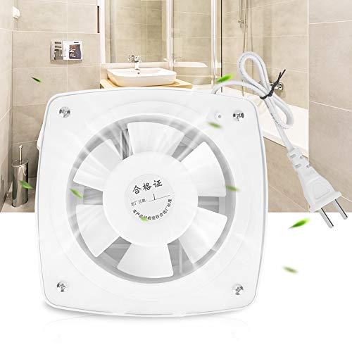 Nikou Ventiladores de ventilación - Ventilador a través de la Pared Montaje en la Pared del Techo Extractor de Aire con 12W 220V para la Cocina/baño de la casa, silencioso, Garaje