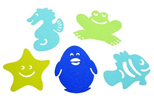 Dreambaby Whatch-Your-Step Lot de 10 tapis de bain antidérapants Multicolore