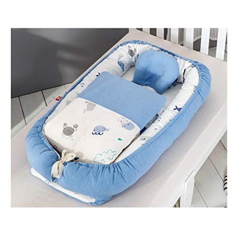 Mattresses Children's Bionic Bed Indoor And Outdoor Children's Room Cradle Bed Convenient Bionic Bed Children's Changing Mat Quilt Set, Bed, Bed (Color : D, Size : 94 * 48cm)