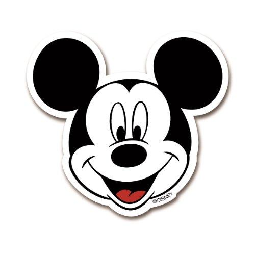 Logoshirt Imán de Nevera Mickey Mouse - Retrato - Imán de refrigerador Disney - con Forma - Diseño Original con Licencia