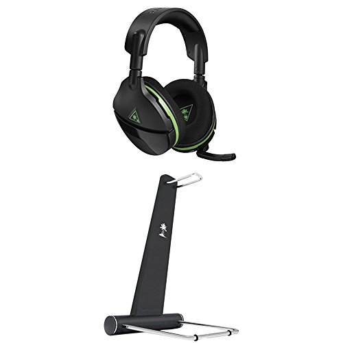 Casque de Jeu sans fil Turtle Beach Stealth 600 avec son ambiophonique (Xbox) + support de casque HS1