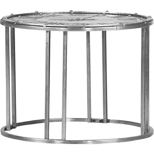 XXXL Beistelltisch, Silber, 46 cm, Metall