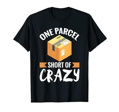 Trabajador Postal Divertido de Correos Un Parcela Correos Camiseta
