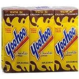 Yoo-hoo Chocolate Milk 6.5 Fl Oz. Drink Four 3-count Packs (12)
