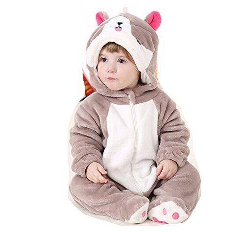 OHmais Bébé Fille garçon Unisexe Grenouillère Costume Deguisement Combinaison Pyjamas vêtement Printemps Automne sucré Chat