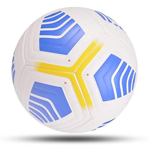 Palla da calcio 2021 Pallone Da Calcio Taglia 5 Pu Cucito A Macchina Di Alta Qualità Porta Da Calcio Partita A Squadre Allenamento Sportivo All'aperto Futbol Bola De Futebol