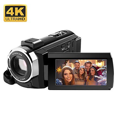 RegeMoudal 4K Camcorder, Videocamera WiFi,24MP 16x Zoom...