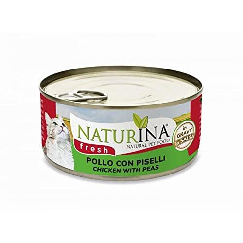 Naturina Cat Fresh - Pollo y guisantes, 70 g