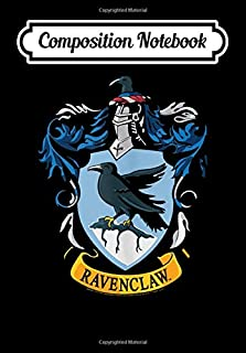 Composition Notebook: Harry Potter Ravenclaw House Crest, Journal 6 x 9, 100 Page Blank Lined Paperback Journal/Notebook