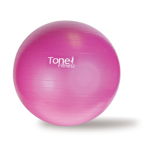 Tone Fitness Stability Ball / Exercise Ball | Exercise Equipment,...