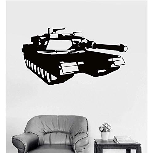 Tank Wandaufkleber, Krieg Militär Aufkleber, Junge Zimmer Dekoration Vinyl Aufkleber...