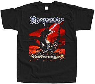 ラプソディホーリーサンダーフォースTシャツ全サイズS 3 XL 100%コットンブラックレッドブリック